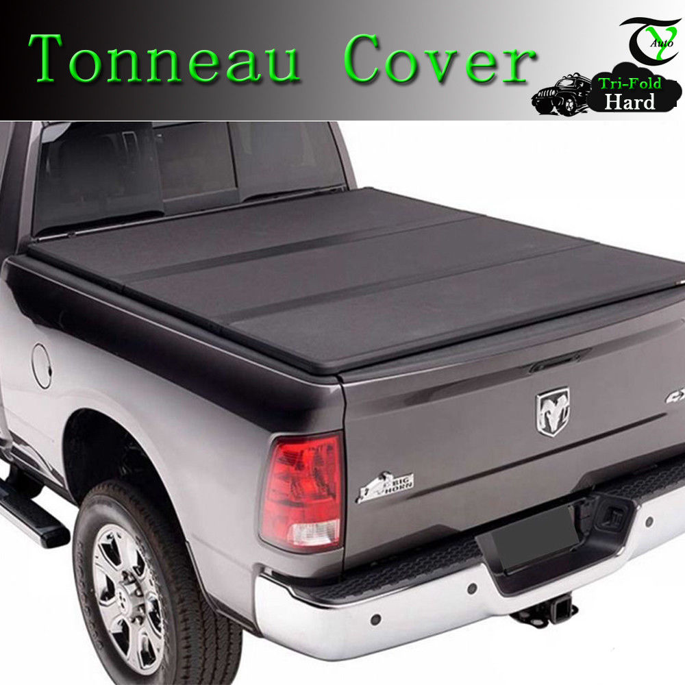 96in Long Bed Fits 2015-2018 Ford F-150 ROLL UP LOCK SOFT Tonneau Cover 8ft