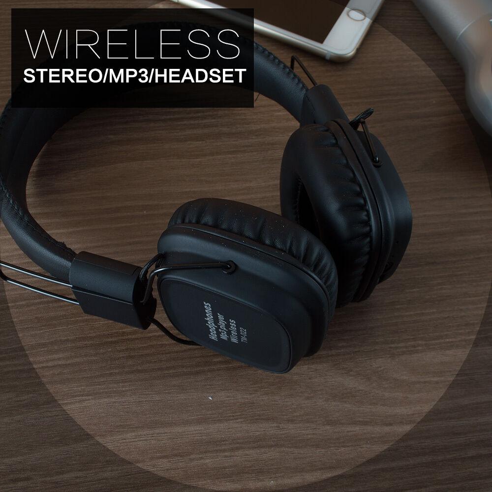 MP3-Earphone-Portable-FM-Headset-Bluetooth-Wireless-Headphone-Surround-Sound thumbnail 14