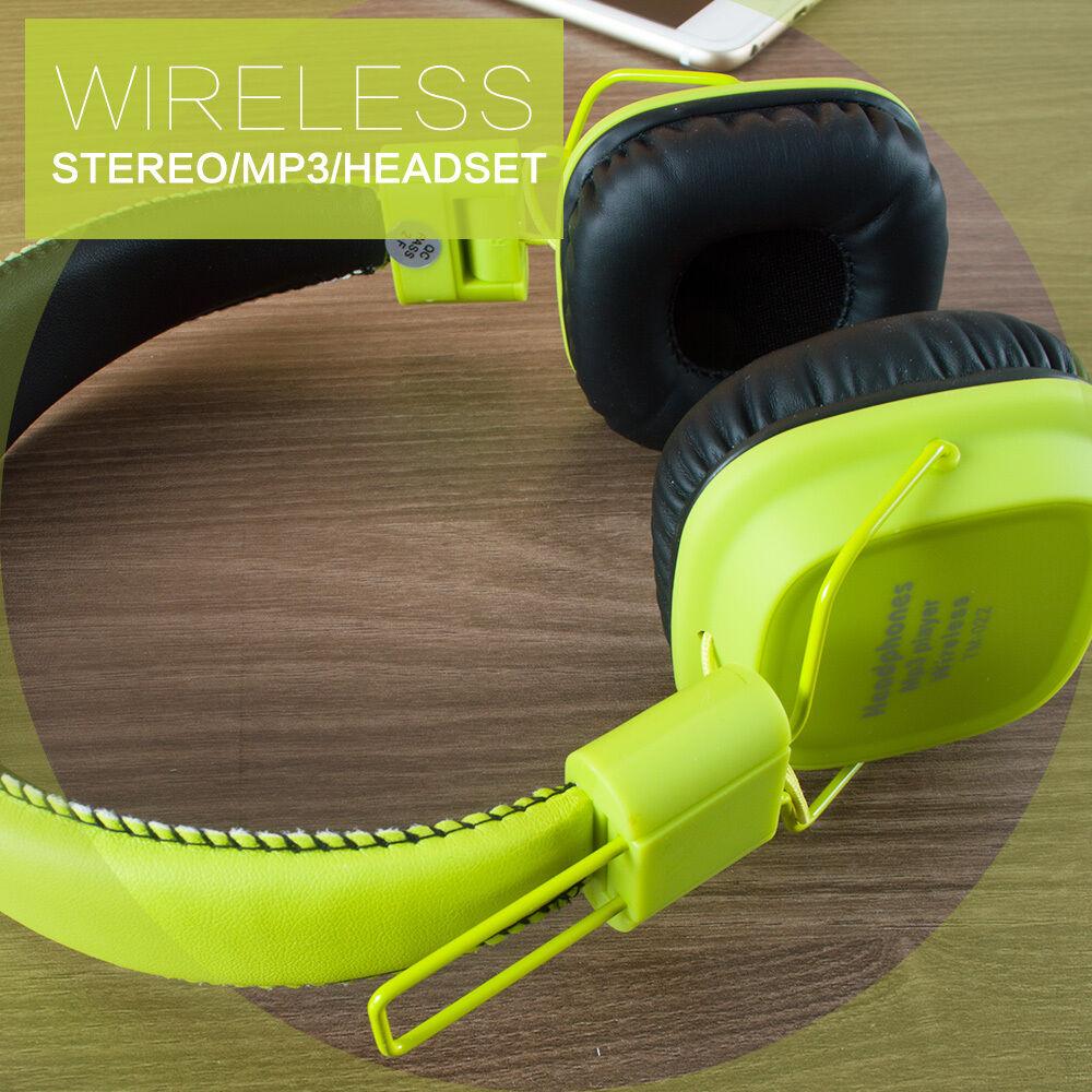 MP3-Earphone-Portable-FM-Headset-Bluetooth-Wireless-Headphone-Surround-Sound thumbnail 17