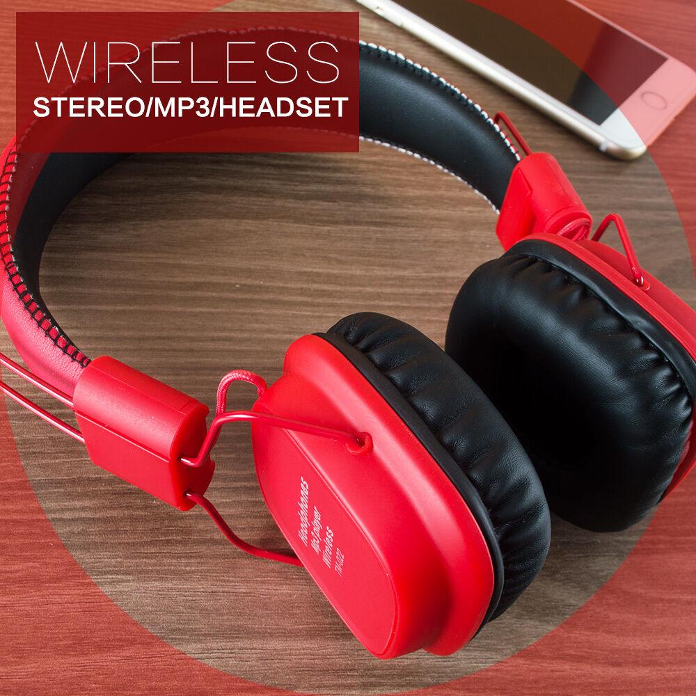 MP3-Earphone-Portable-FM-Headset-Bluetooth-Wireless-Headphone-Surround-Sound thumbnail 21