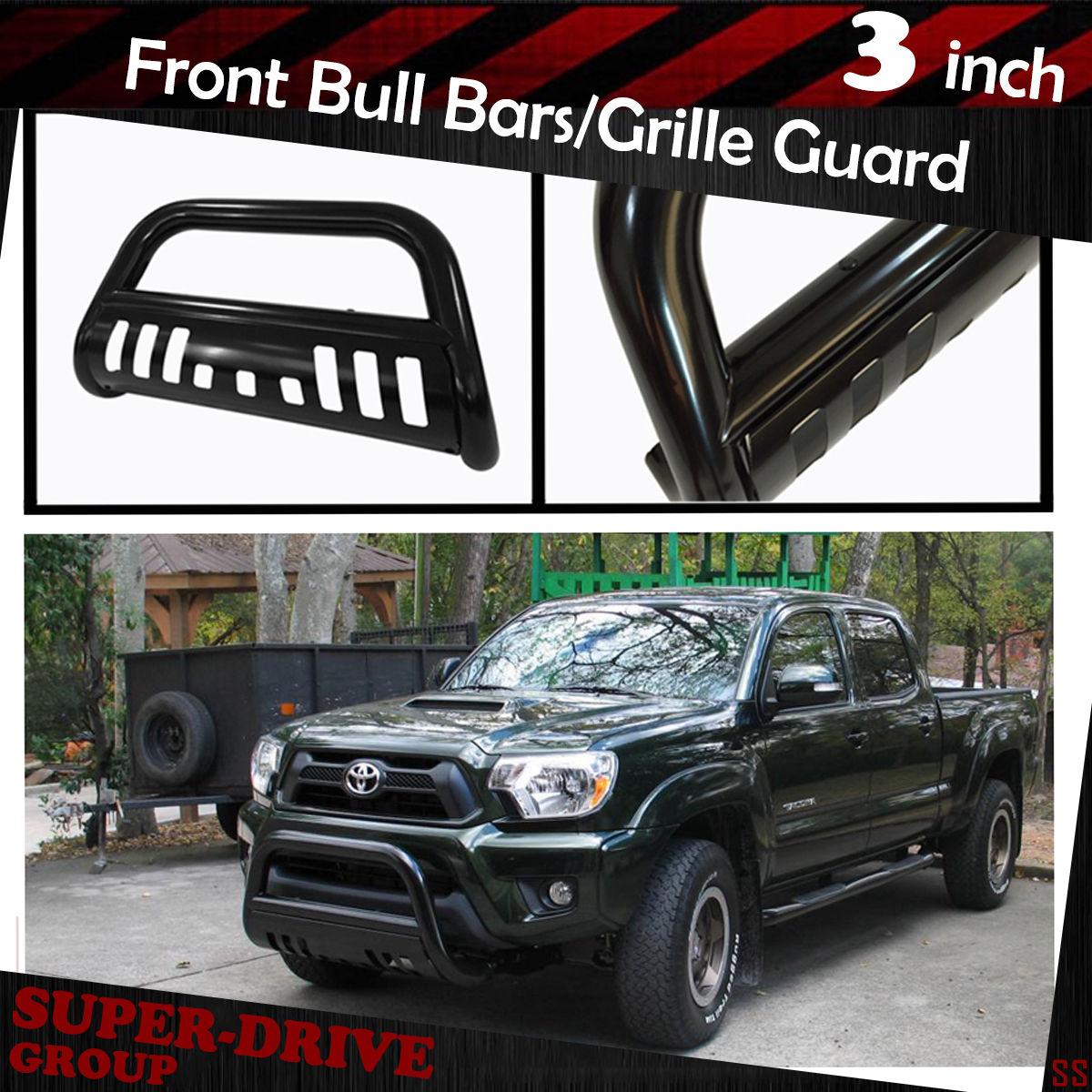 "3/"" Chrome Bull Bar For 2000-2006 TOYOTA TUNDRA Bumper Skid Plate Brush Protector"