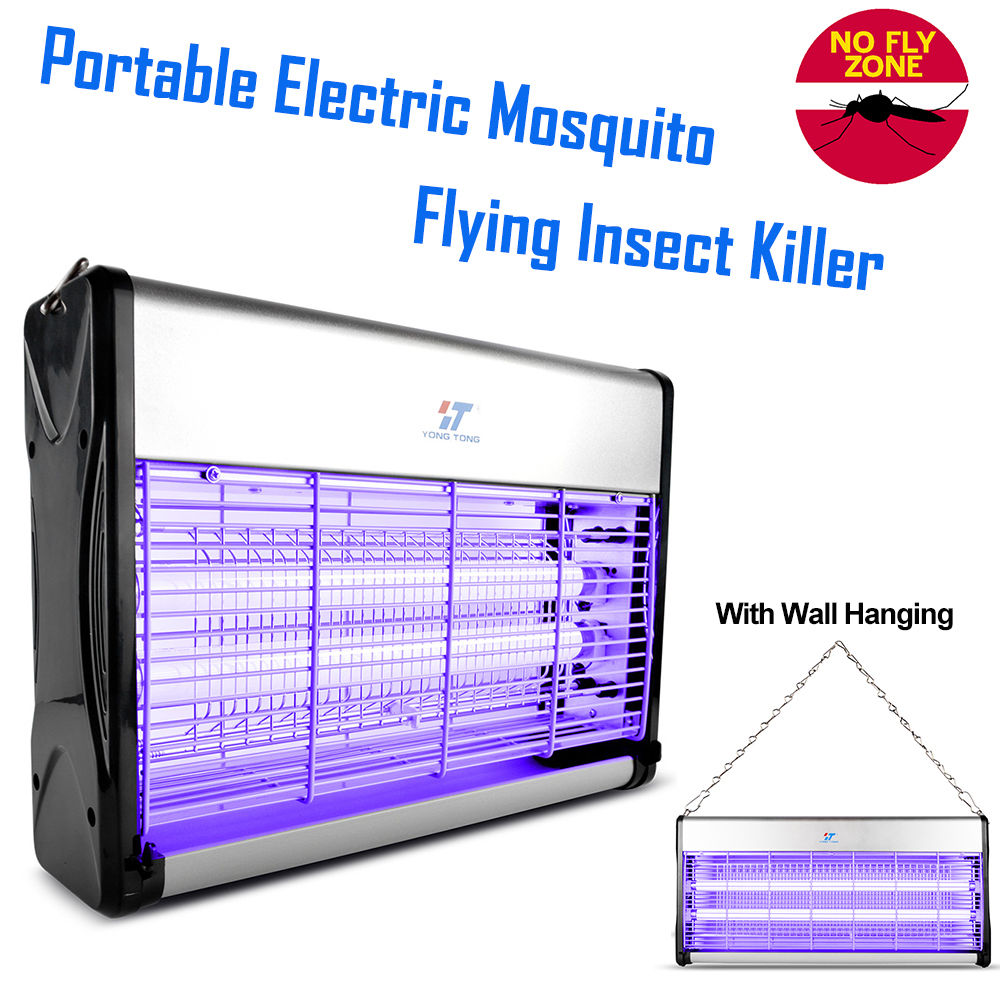 30w Pest Control Electronic Mosquito Killer Fly Bugs Insects Zapper Wiring Diagram For Uv Light Lamp Trap