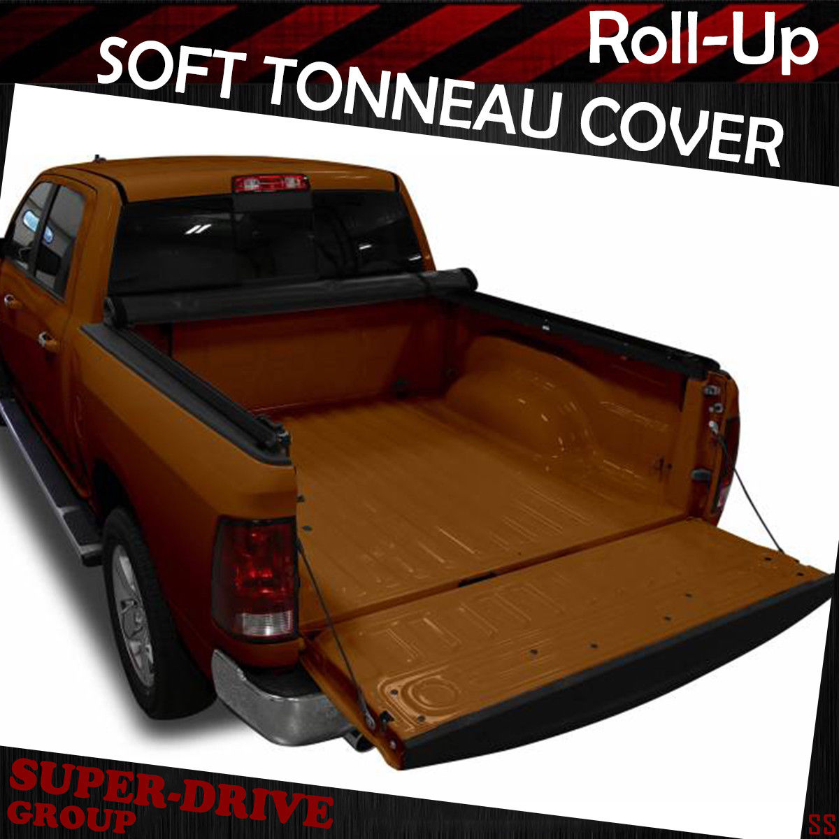 Lock Soft Roll Up Tonneau Cover For 2009 2018 Dodge Ram 1500 6 5ft 78in Bed Jasaangkut Co Id