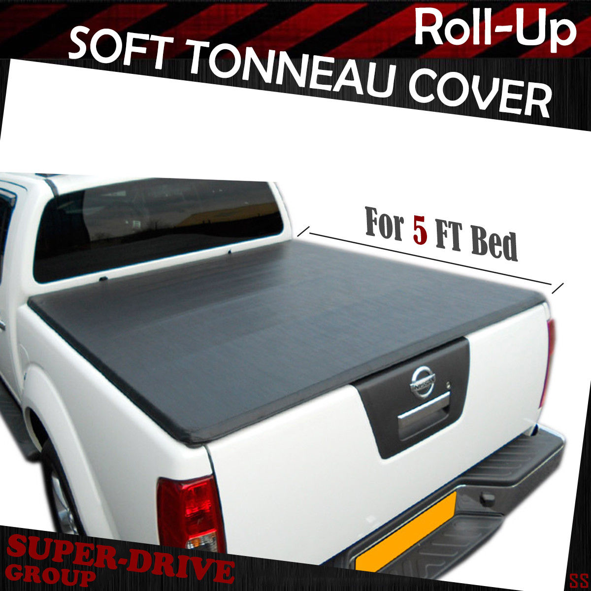 Premium Lock Roll Up Tonneau Cover For 2005 2019 Nissan Frontier 5 Ft 60 Bed Ebay