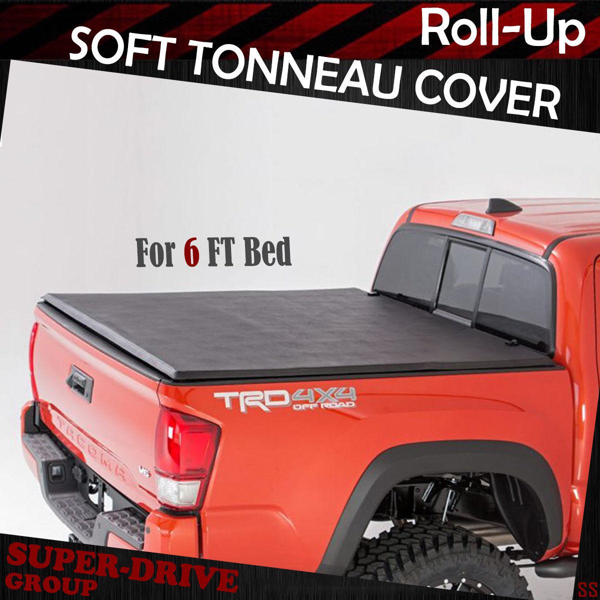 Auto Parts And Vehicles Soft Tri Fold Tonneau Assemble Cover For