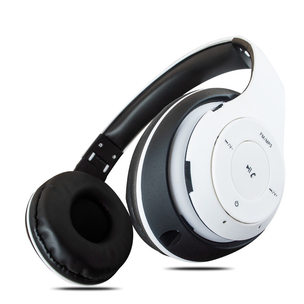 Rechargeable Wireless Bluetooth Headphones With Mic Super Bass Headset Over Ears Ebay