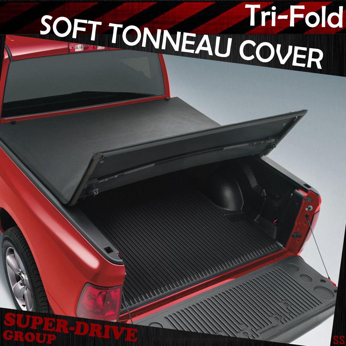Compatible with: 2009-2018 Dodge Ram 6.5 Box APO Premium Soft TRI-FOLD Vinyl TONNEAU Cover