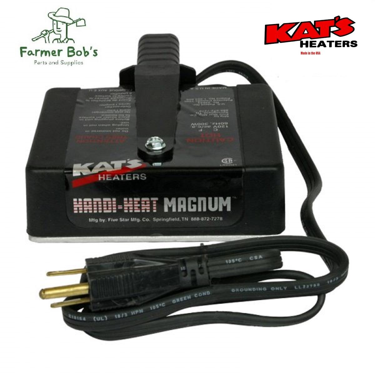 Kats Oil /& Transmission Heater Pan Heating Pad 1200 Watt 120 Volt Farmer Bobs Parts HP100
