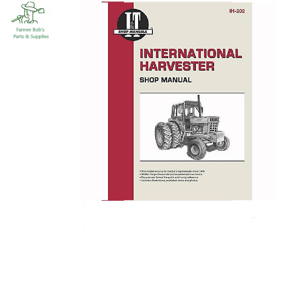 I U0026t Shop Manuals International Harvester Shop Manual  766
