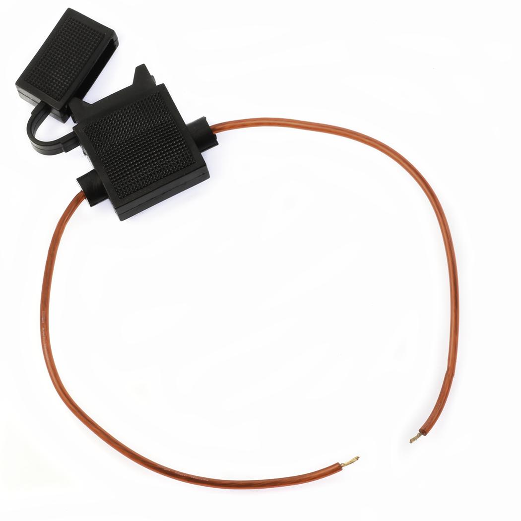 1 18 Gauge Atc Fuse Holder In Line Wire 12 Volt Power Blade Box