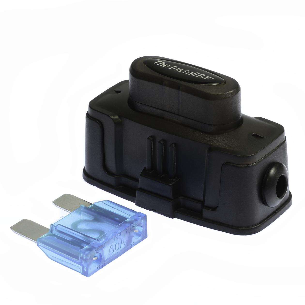 Maxi Fuse 60a Box Inline Holder Fuseholder Install Bay Gauge Amp 1260x1260
