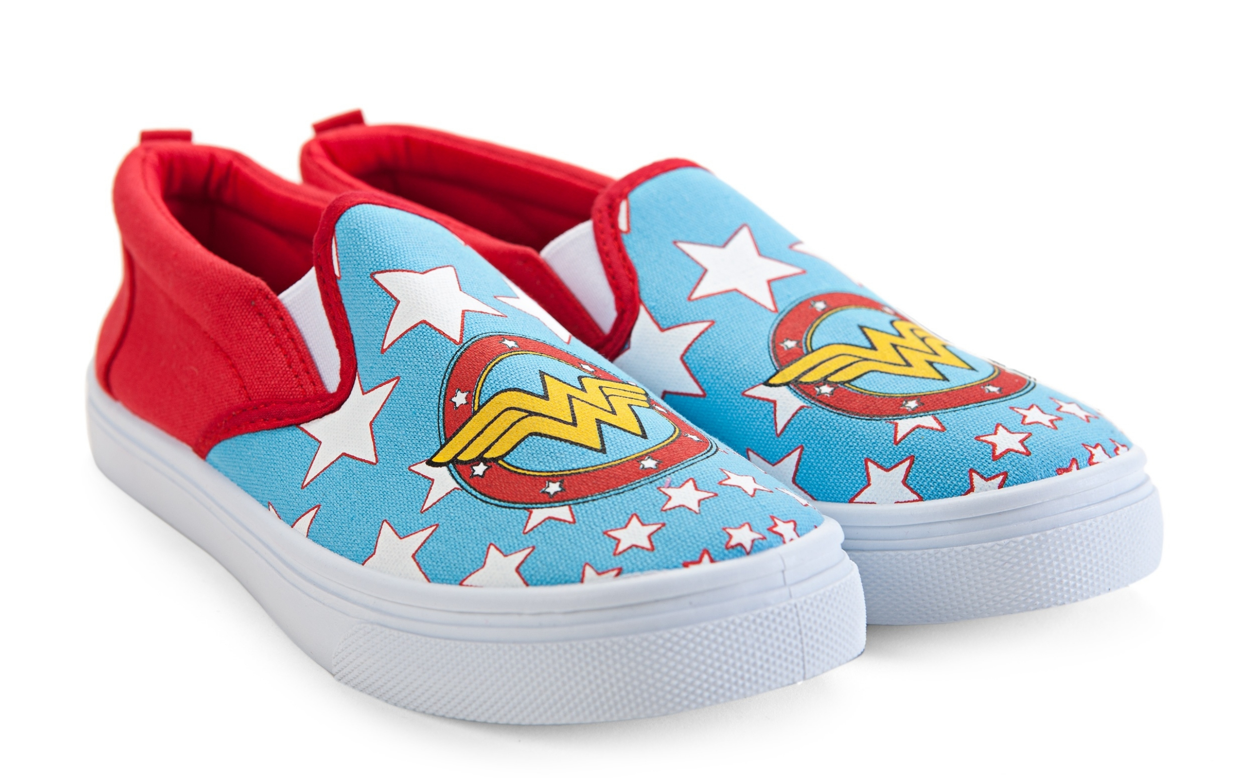 newest exquisite craftsmanship new style & luxury Details about Women's Slip On Sneakers - Wonder Woman, Small
