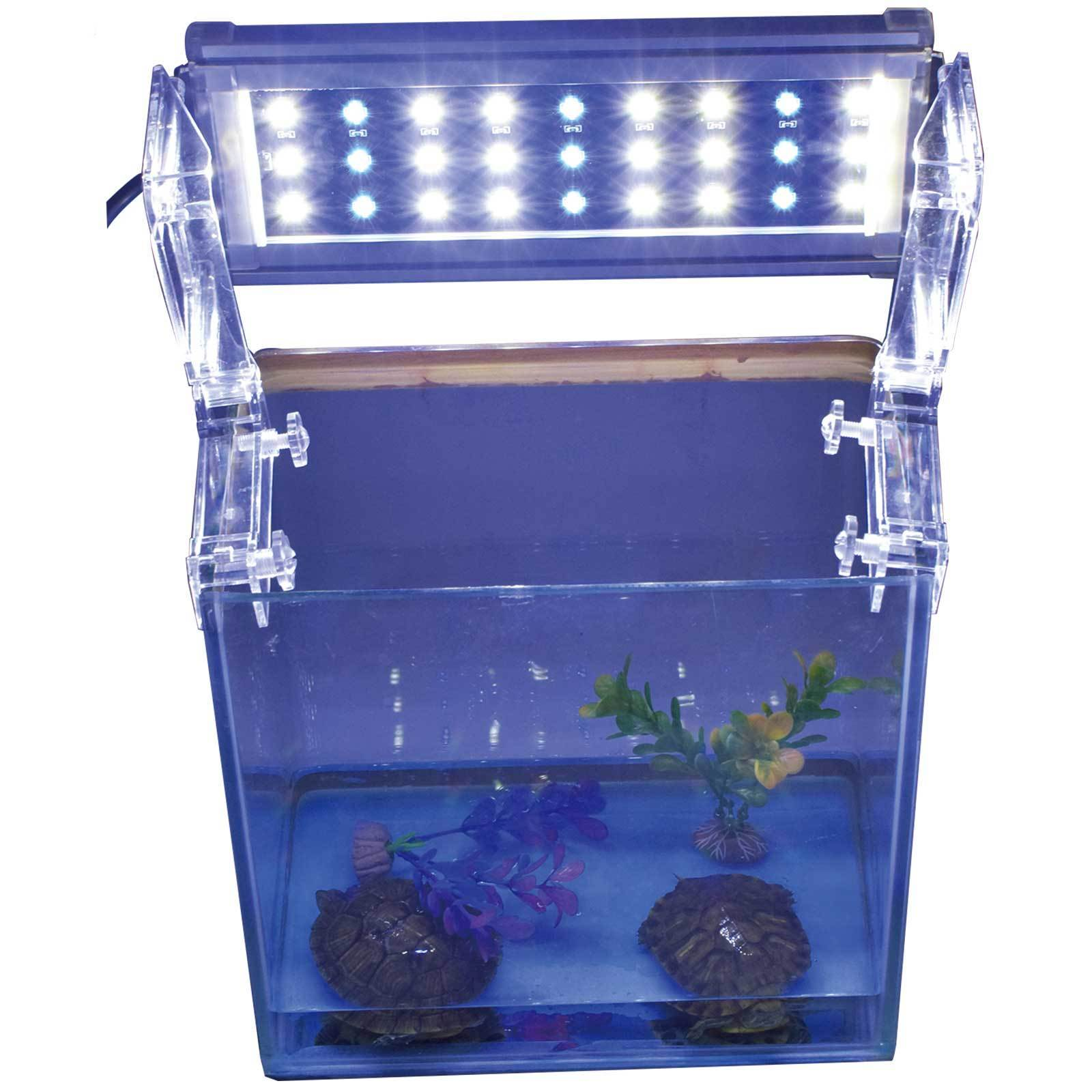 blau weiss meerwasser s wasser aquarium tank led. Black Bedroom Furniture Sets. Home Design Ideas
