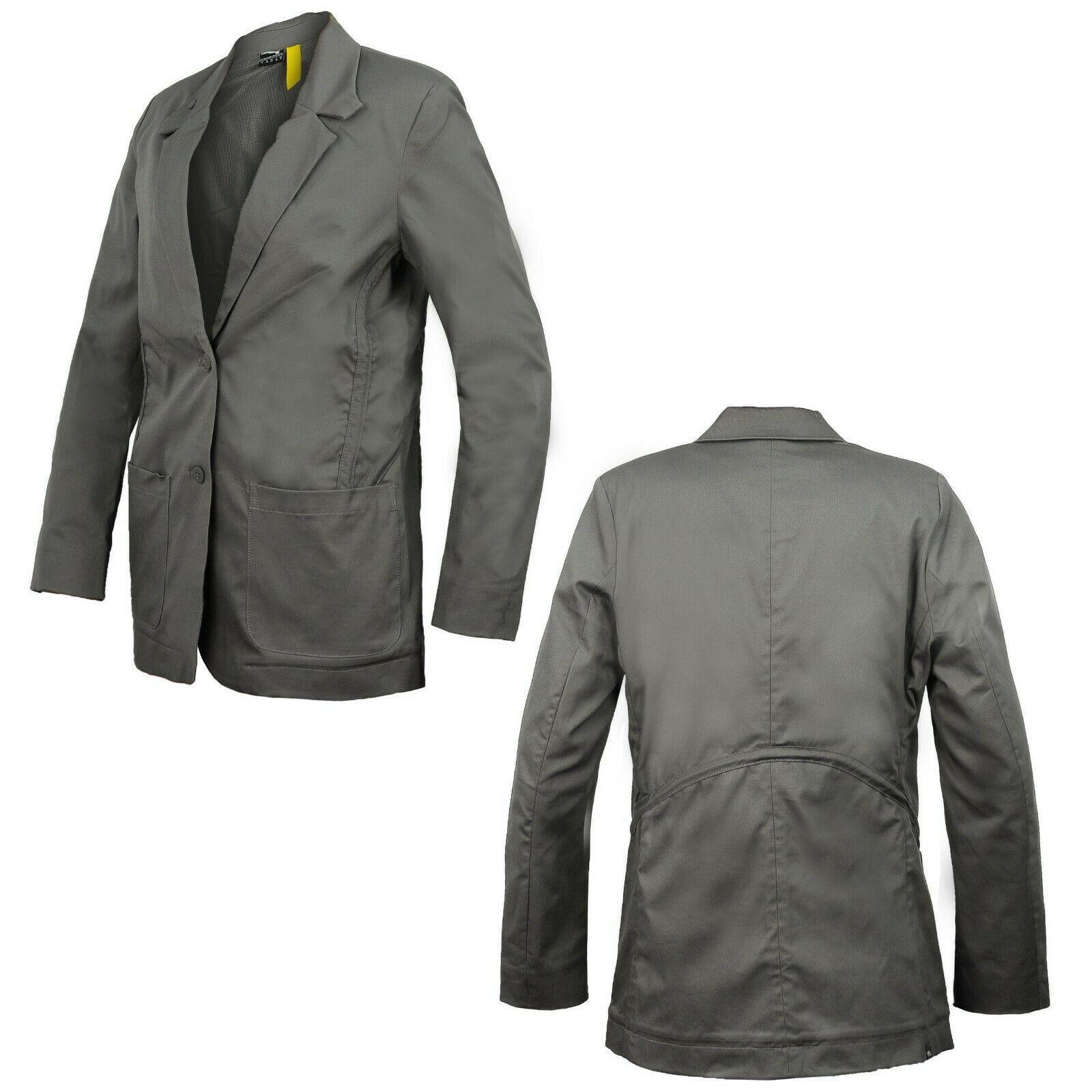 Puma x Hussein Chalayan Womens Blazer Patch Pocket Jacket Grey ...