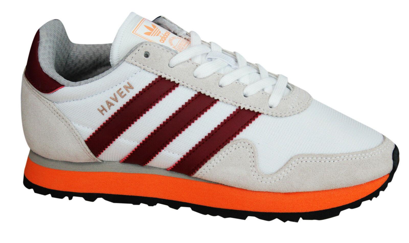Adidas Originals Haven Mens Trainers Lace Up Shoes Textile ...