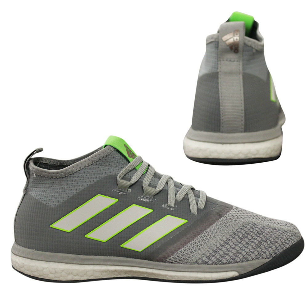 Adidas Ace Tango 17.1 Football Trainers Lace Up Mens Shoes Grey ...