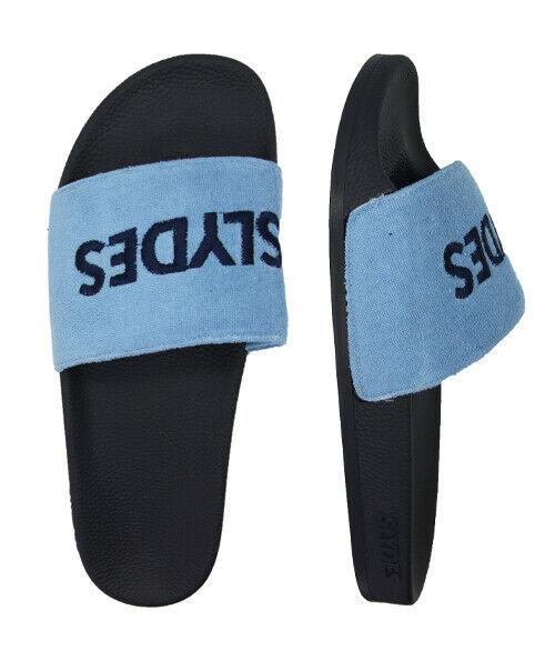 Slydes Port Mens Slip On Sliders Open Toe Flip Flops Slide Black S0244S106 Z3A