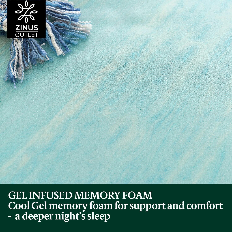 thumbnail 11 - Zinus Mattress Queen Double King Single Bed Memory Foam Pocket Spring Hybrid