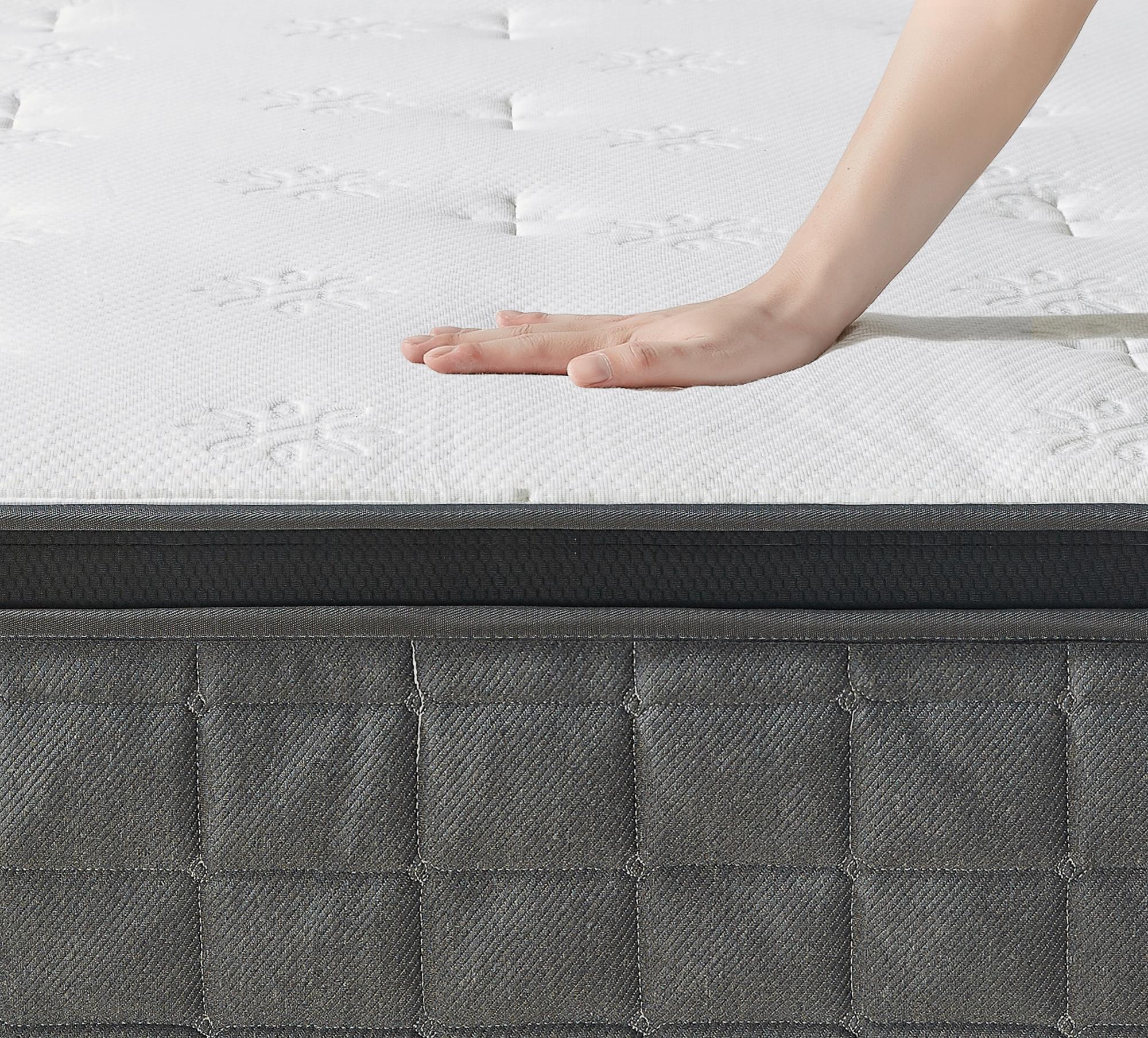 thumbnail 19 - Zinus Mattress Queen Double King Single Bed Memory Foam Pocket Spring Hybrid