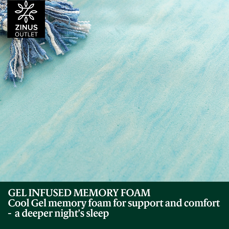 thumbnail 143 - Zinus Mattress Queen Double King Single Bed Memory Foam Pocket Spring Hybrid