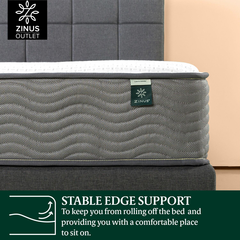 thumbnail 149 - Zinus Mattress Queen Double King Single Bed Memory Foam Pocket Spring Hybrid