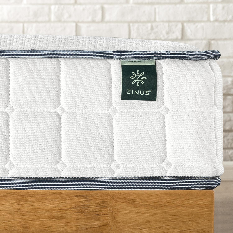 thumbnail 126 - Zinus Mattress Queen Double King Single Bed Memory Foam Pocket Spring Hybrid