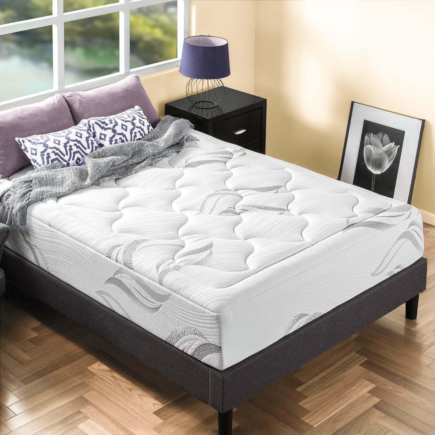 thumbnail 40 - Zinus Mattress Queen Double King Single Bed Memory Foam Pocket Spring Hybrid