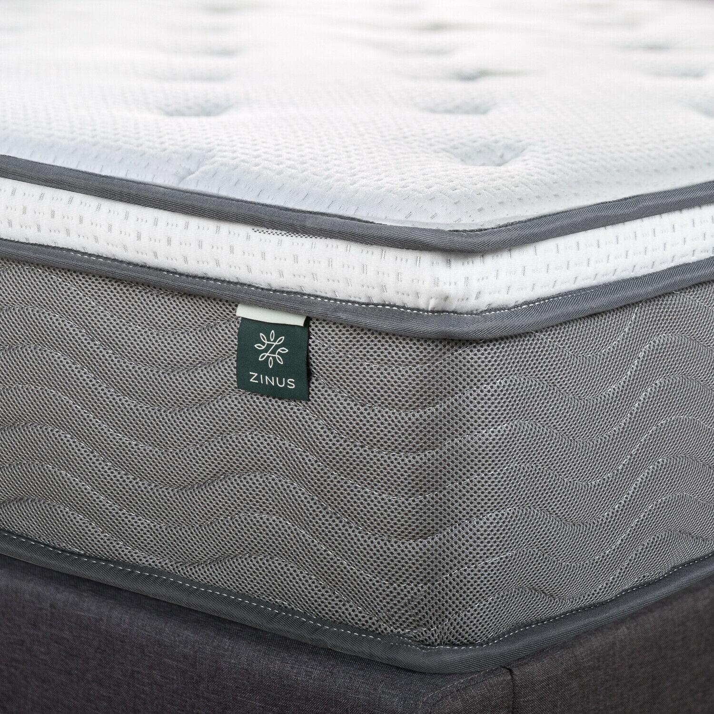 thumbnail 23 - Zinus Mattress Queen Double King Single Bed Memory Foam Pocket Spring Hybrid