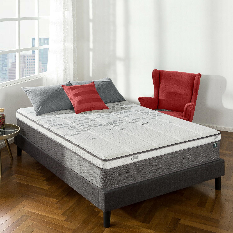 thumbnail 29 - Zinus Mattress Queen Double King Single Bed Memory Foam Pocket Spring Hybrid