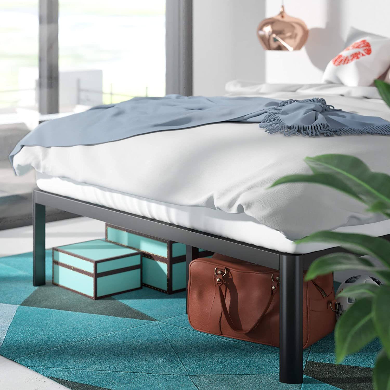 Zinus-QuickLock-SINGLE-DOUBLE-QUEEN-KING-Bed-Base-Mattress-Metal-Frame-Platform thumbnail 22
