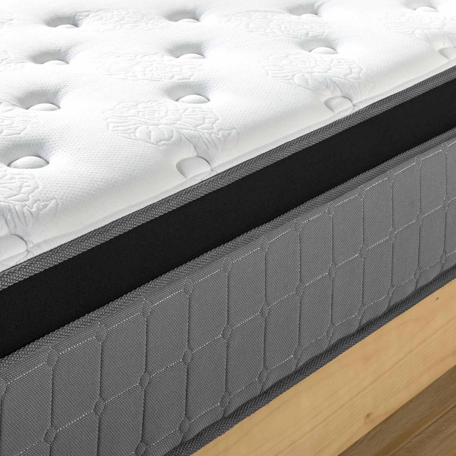 thumbnail 62 - Zinus Mattress Queen Double King Single Bed Memory Foam Pocket Spring Hybrid