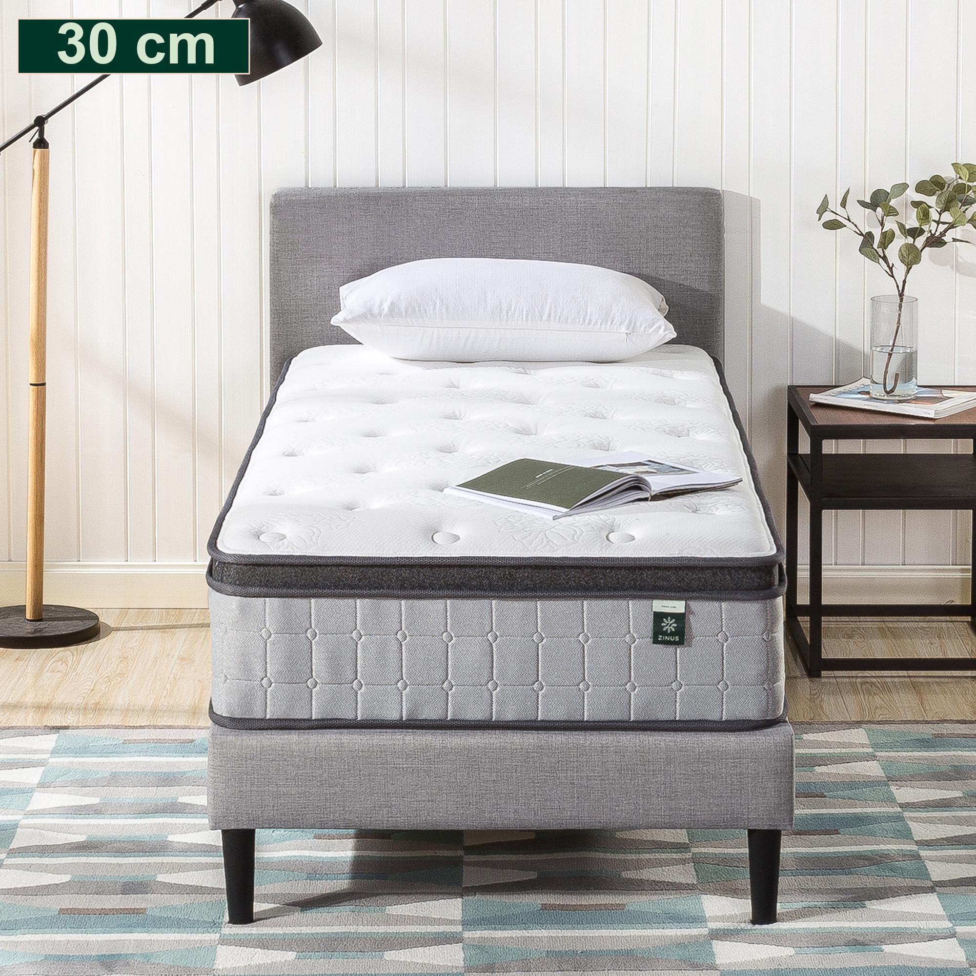 thumbnail 44 - Zinus Mattress Queen Double King Single Bed Memory Foam Pocket Spring Hybrid