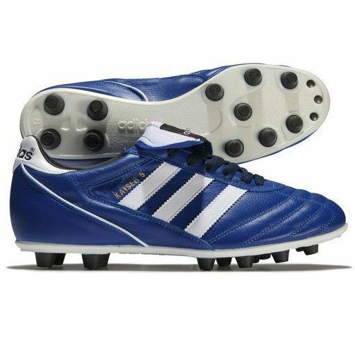 Atticus Encantador Red de comunicacion  MENS ADIDAS KAISER 5 LIGA FIRM GROUND FOOTBALL FOOTY SOCCER BLUE WHITE  SHOES | eBay