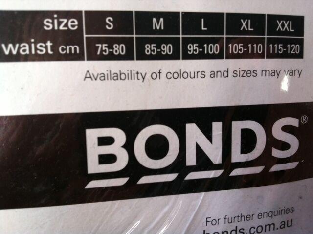 XXL BONDS 5 PACK HIPSTER COTTON BRIEFS UNDERWEAR Blue Red Black S