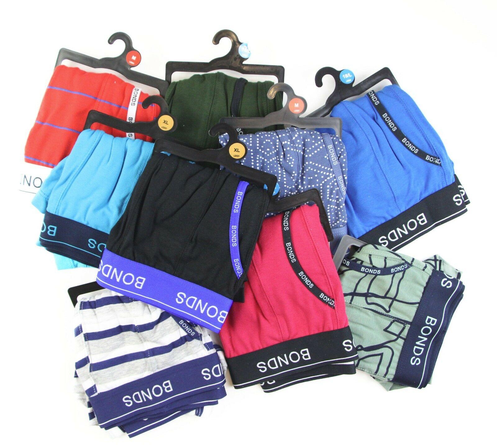 5-20-pairs-x-MENS-BONDS-UNDERWEAR-Guyfront-Trunks-Briefs-Boxer-Shorts-Size-S-XXL thumbnail 11
