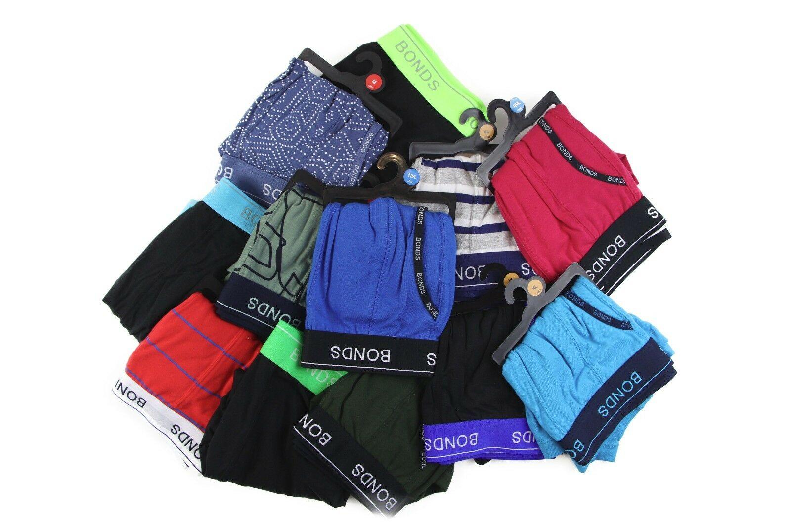 5-20-pairs-x-MENS-BONDS-UNDERWEAR-Guyfront-Trunks-Briefs-Boxer-Shorts-Size-S-XXL thumbnail 12
