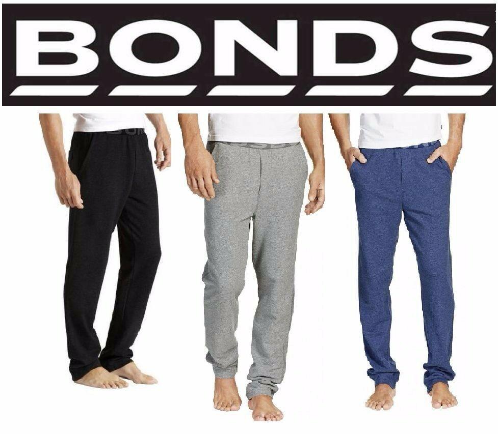 Bonds Logo Trackies Grey Marl//White