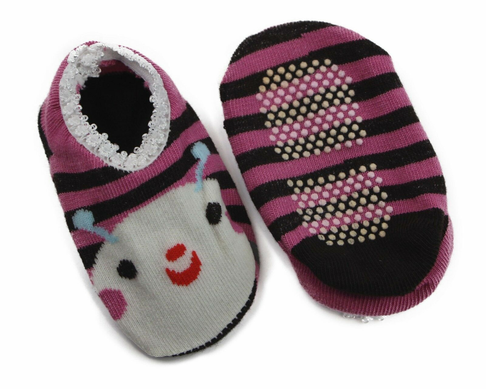 thumbnail 7 - Baby Footlets Kids Toddler Cotton Socks Anti Slip Grip Boys Girls 6-18 Months