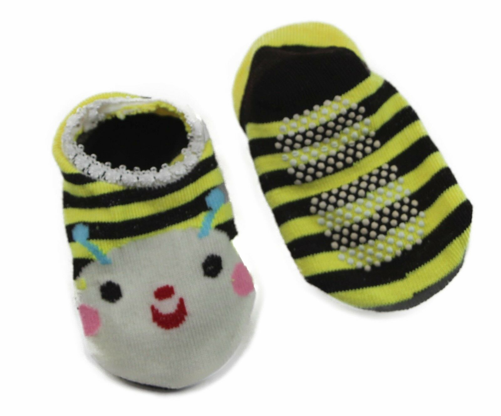 thumbnail 10 - Baby Footlets Kids Toddler Cotton Socks Anti Slip Grip Boys Girls 6-18 Months