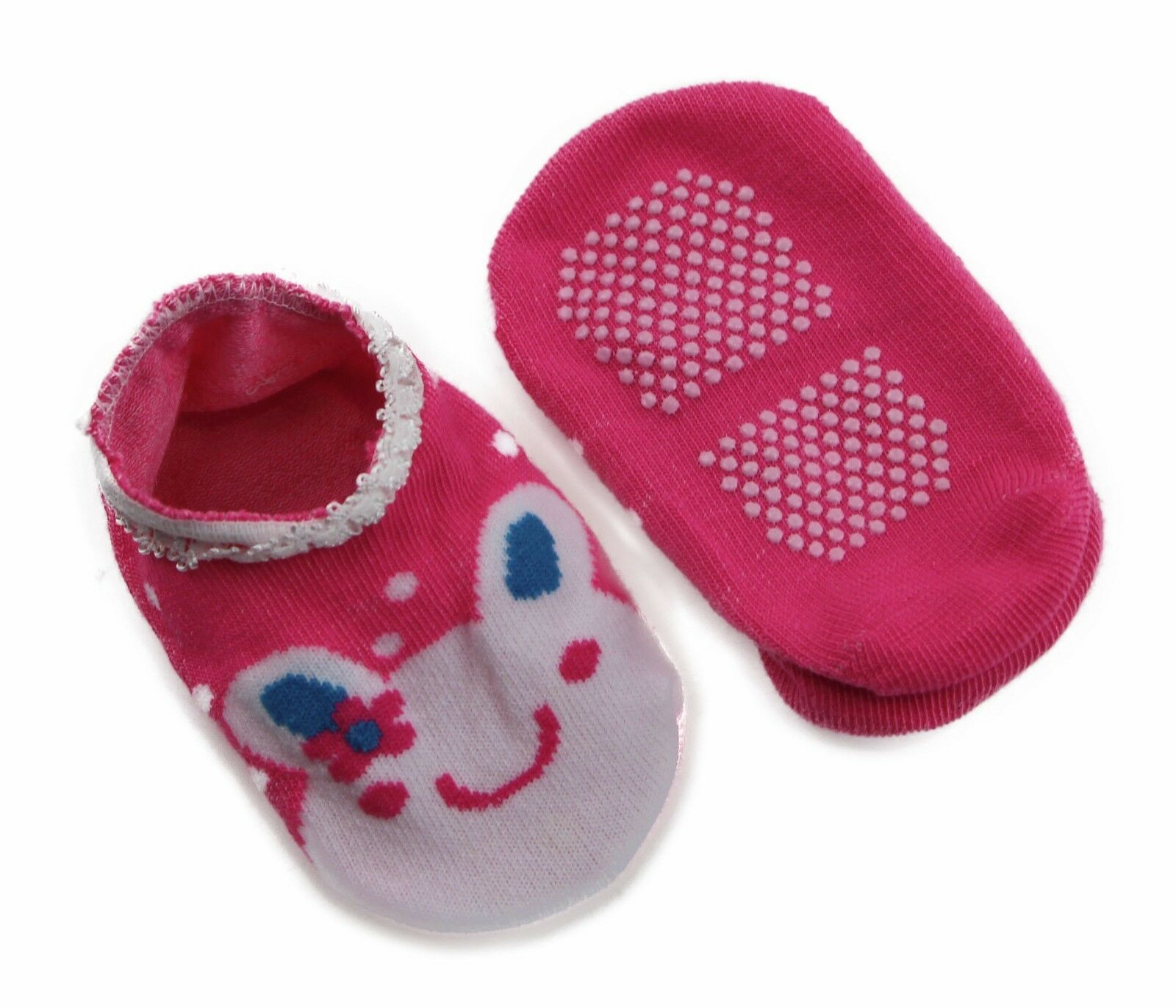 thumbnail 37 - Baby Footlets Kids Toddler Cotton Socks Anti Slip Grip Boys Girls 6-18 Months