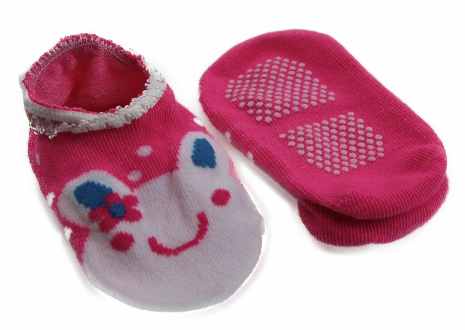 thumbnail 38 - Baby Footlets Kids Toddler Cotton Socks Anti Slip Grip Boys Girls 6-18 Months
