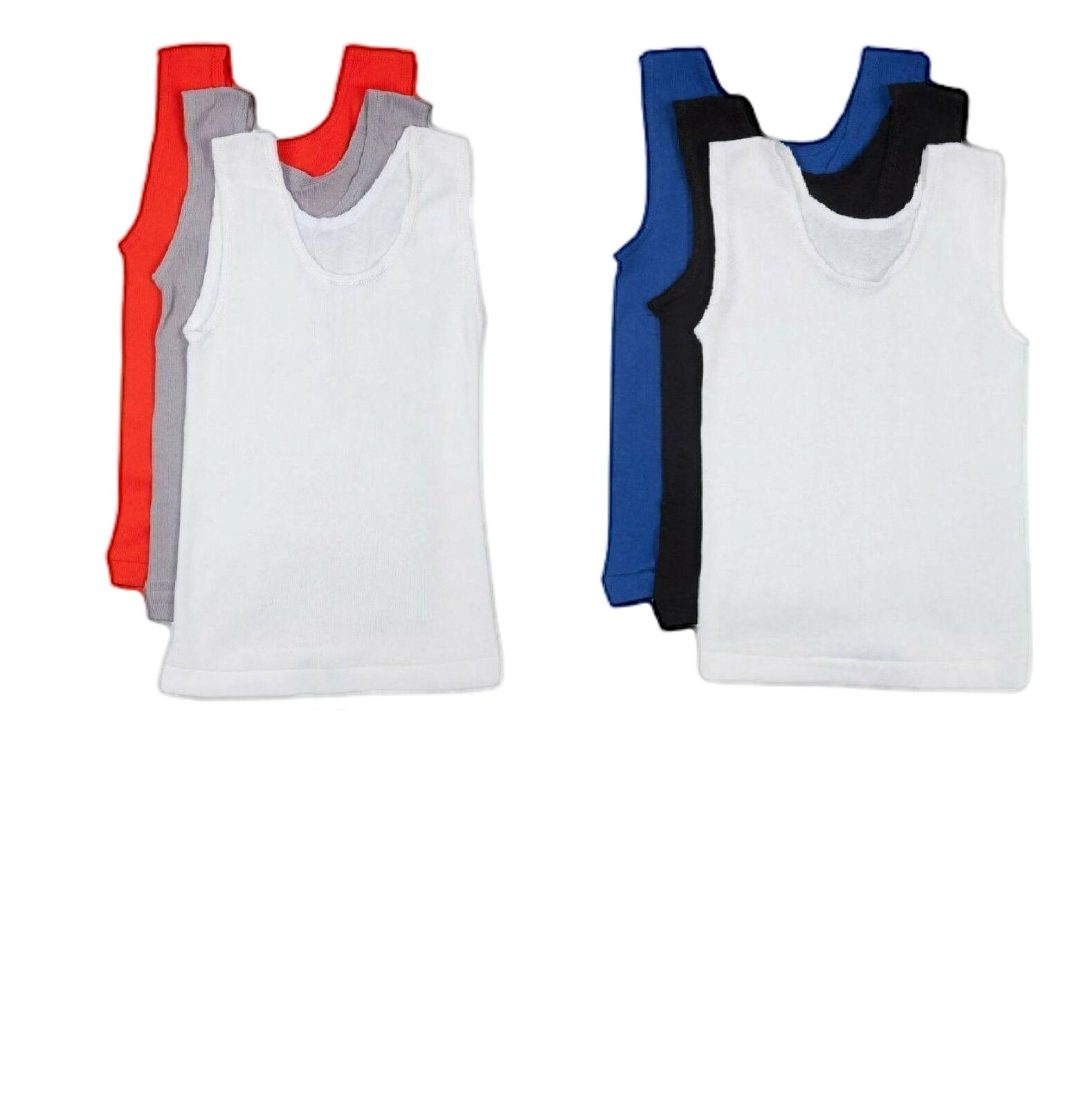 *CHEAP* BONDS BOYS KIDS 2 PACK CHESTY COTTON SINGLET SINGLETS Underwear Youth