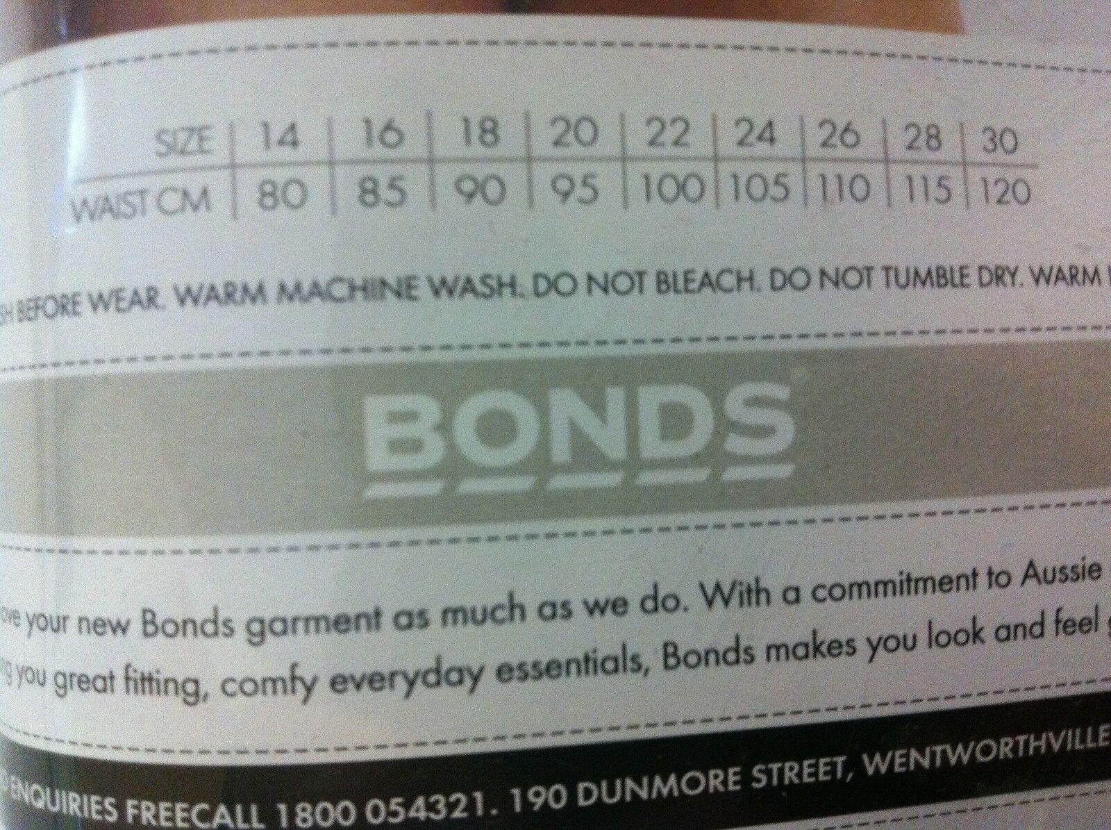 5-20-pairs-x-MENS-BONDS-UNDERWEAR-Guyfront-Trunks-Briefs-Boxer-Shorts-Size-S-XXL thumbnail 16