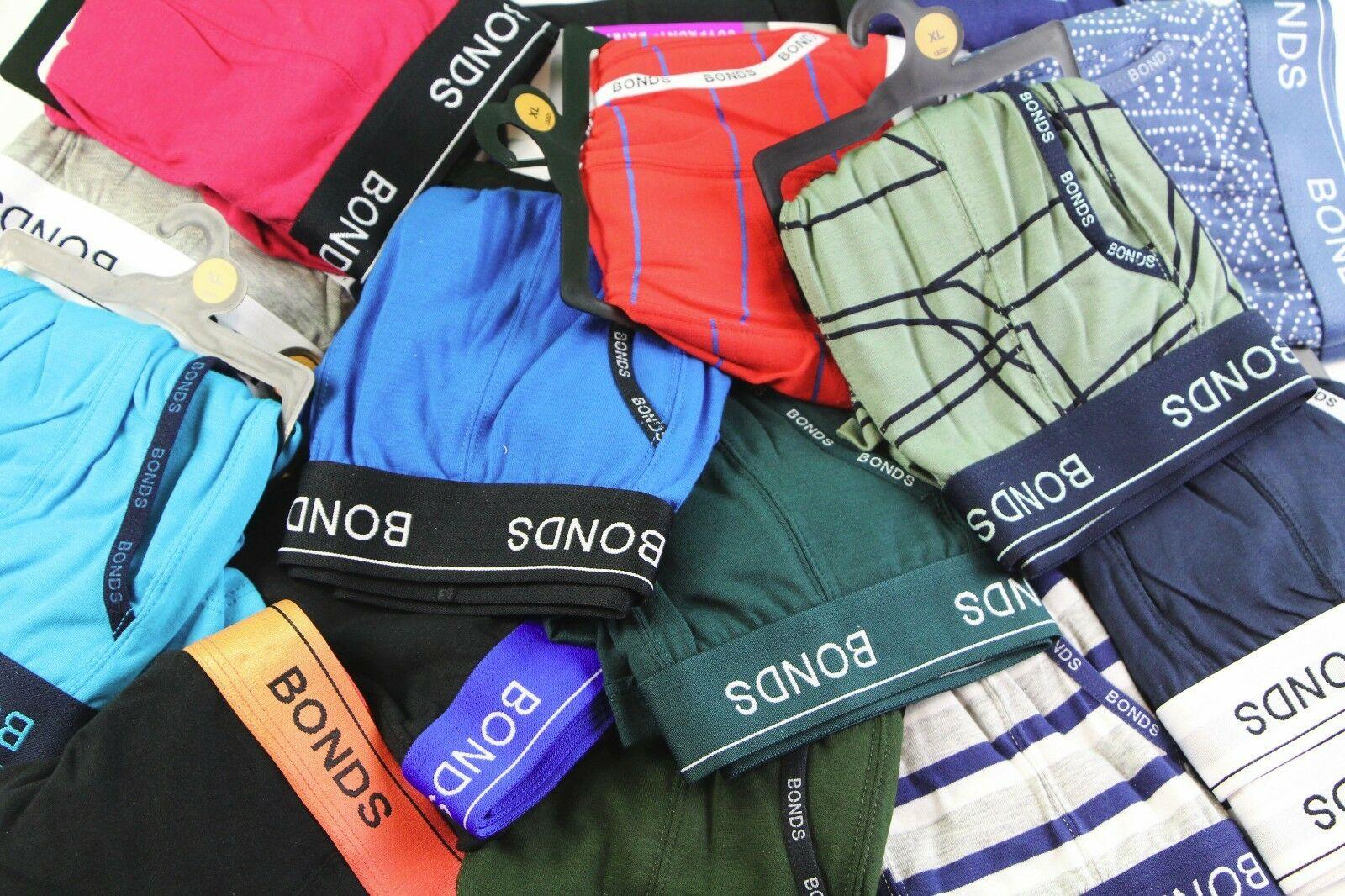 20 X Mens Bonds Underwear Guyfront Trunks Briefs Boxer Shorts S-Xxl 6 10 5