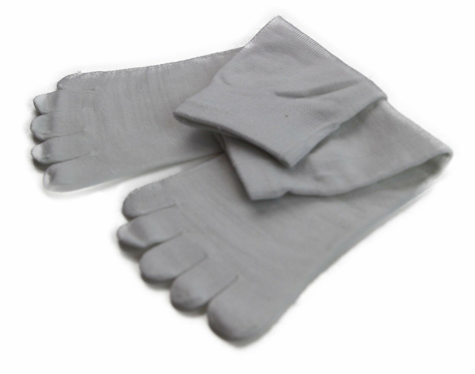 縮圖 15 - Toe Socks Premium Cotton Ankle Five Finger Socks Black Grey Brown Mens Womens