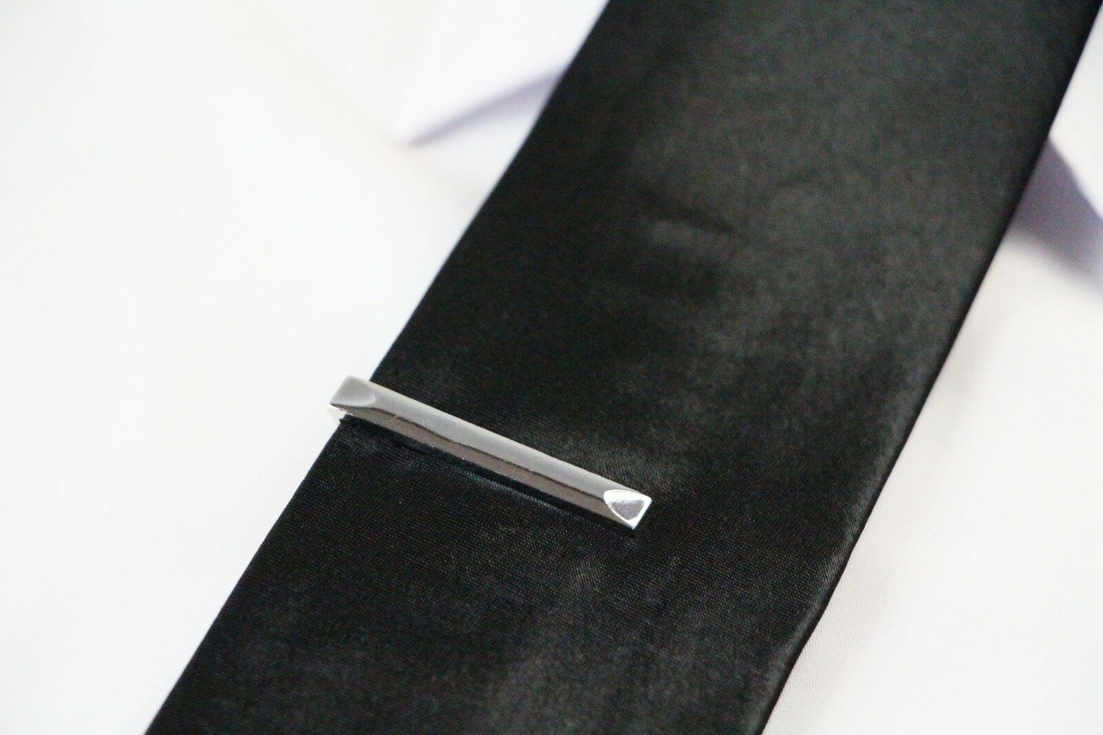 thumbnail 52 - TIE CLIP Mens Boys Stainless Steel Clasp Bar Wedding Neck Rose Silver Black Gold