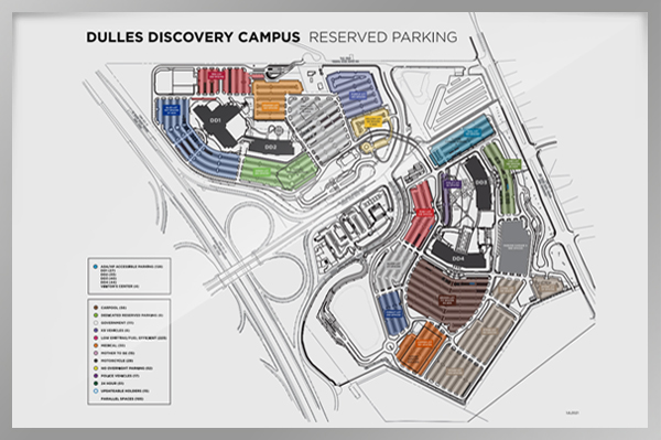 Campus Map Whiteboard