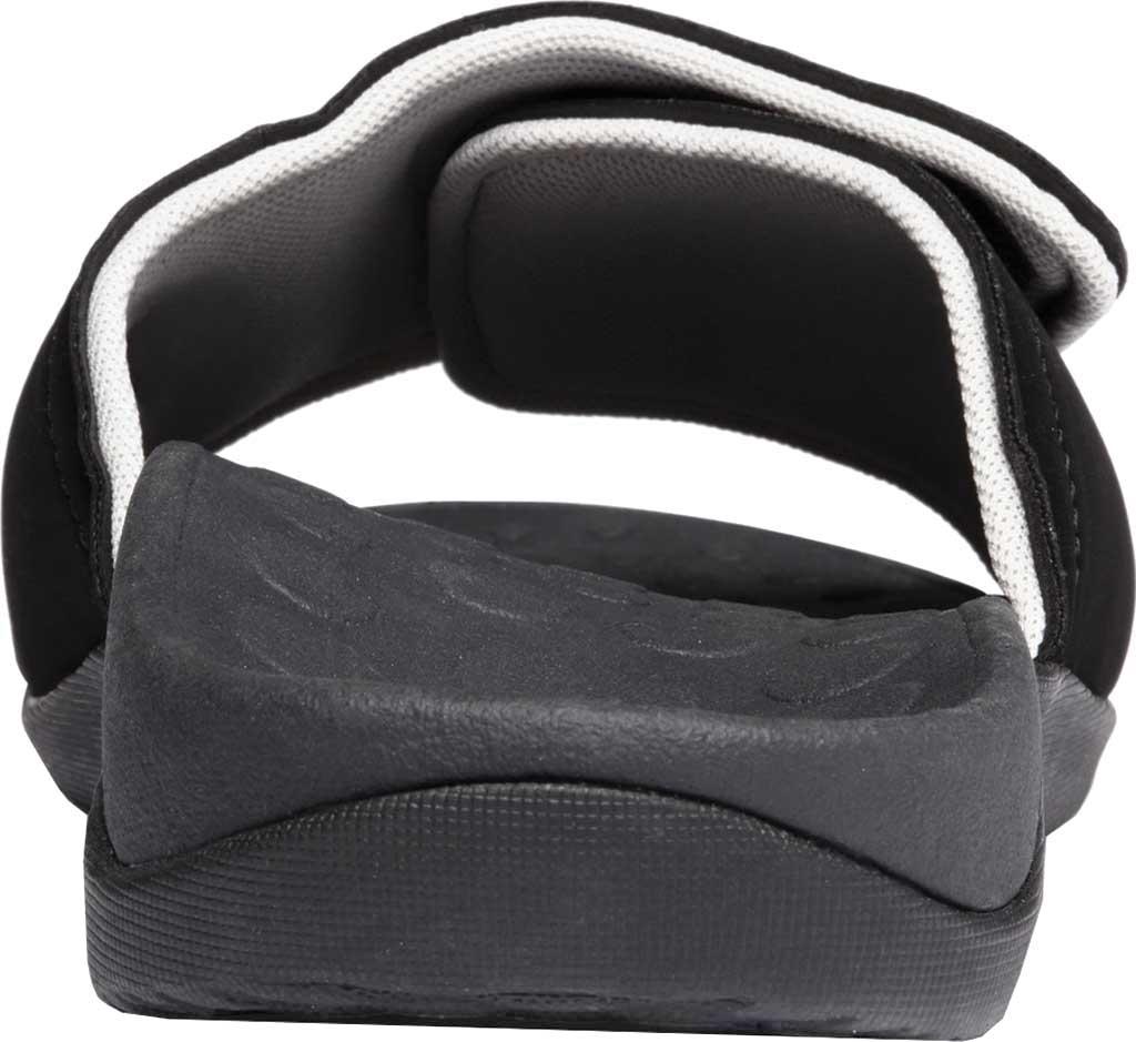 Vionic Kiwi Slide, Black/Grey Synthetic Nubuck, large, image 5