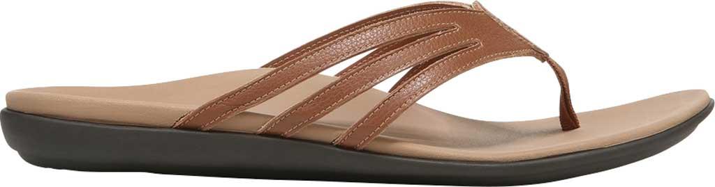 Women's Vionic Alta Thong Sandal, Espresso Leather, large, image 2