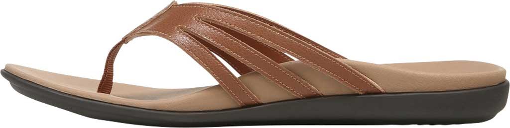 Women's Vionic Alta Thong Sandal, Espresso Leather, large, image 3